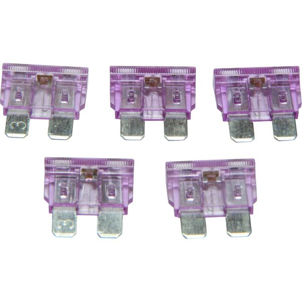 ASAP Electrical LED Blade Fuse (3 Amp / 5 Pack)