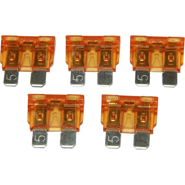 ASAP Electrical LED Blade Fuse (5 Amp / 5 Pack)