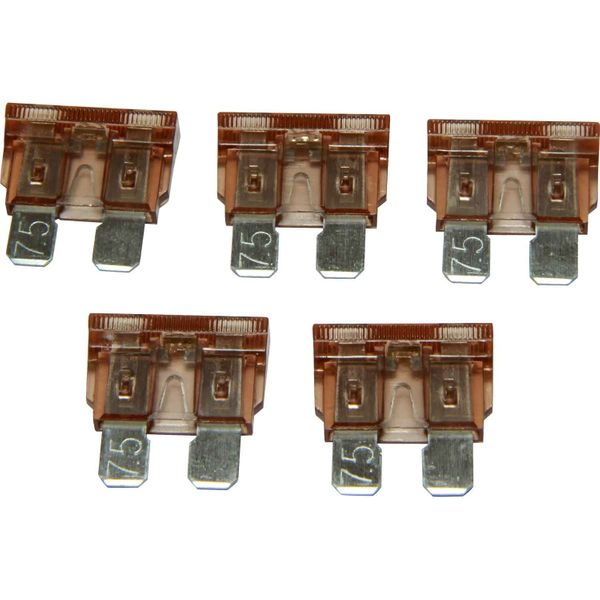 ASAP Electrical LED Blade Fuse (7.5 Amp / 5 Pack)
