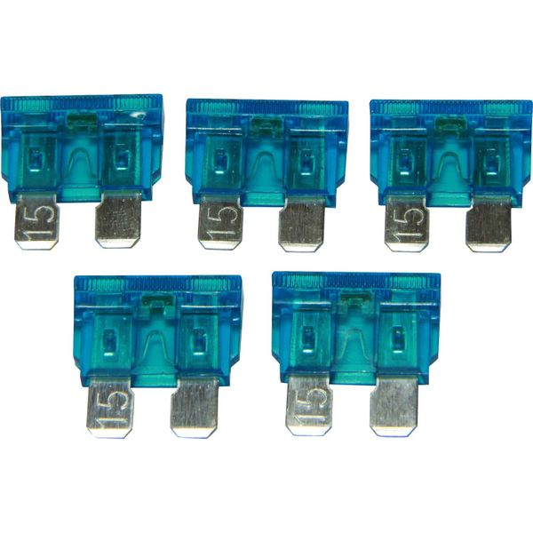 ASAP Electrical LED Blade Fuse (15 Amp / 5 Pack)