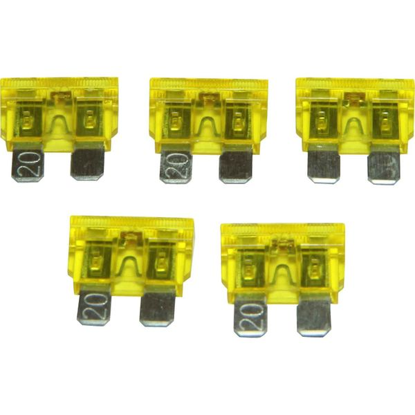 ASAP Electrical LED Blade Fuse (20 Amp / 5 Pack)