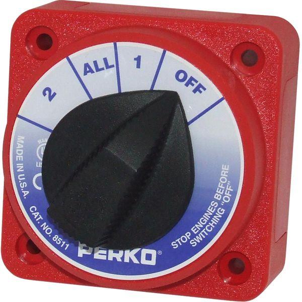 Perko 8511DP Compact Battery Isolator 315A (12-32V)