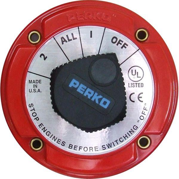 Perko 8503DP Alternator Disconnect Battery Isolator 250A (12-32V)