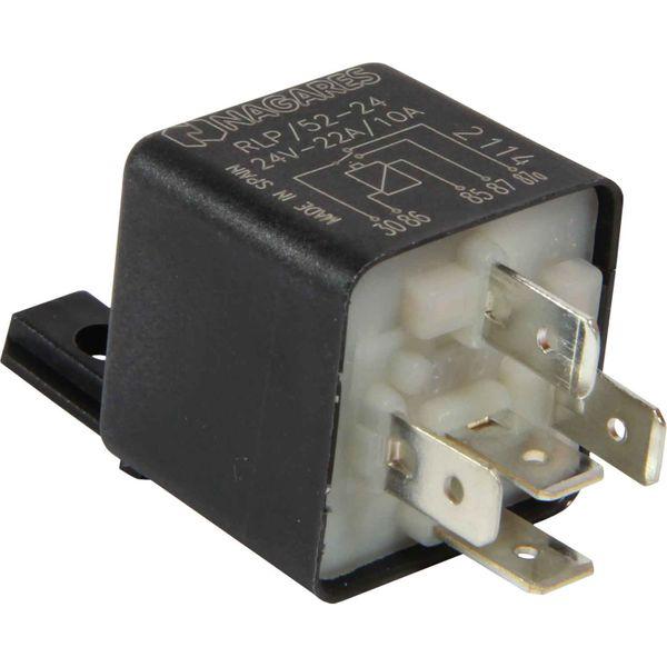 Auto Marine 24 Volt 22/10 Amp Mini Relay (5 Pin)