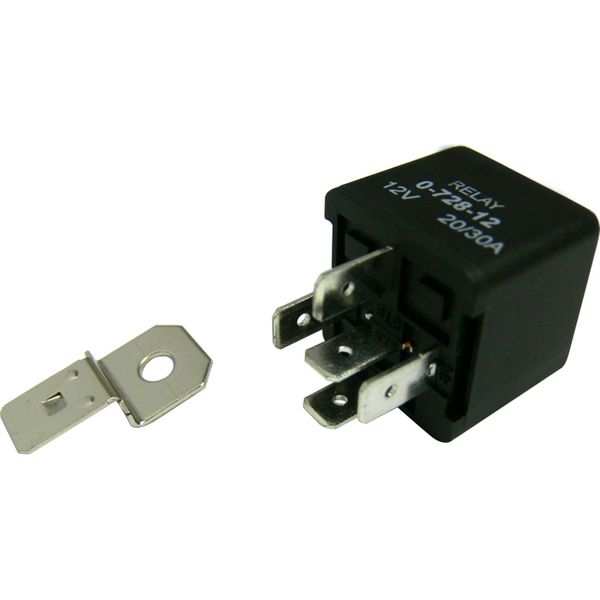 ASAP Electrical Switching Relay (12V / 30A Open 20A Closed)
