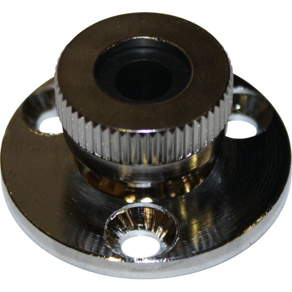 ASAP Electrical Chromed Brass Cable Gland (6mm Cable / 32mm Diameter)