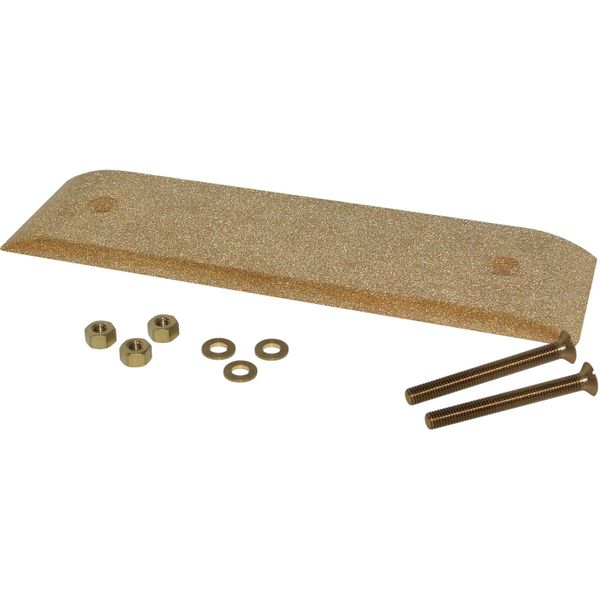 ASAP Electrical Bronze Ground Plate (300mm x 75mm x 12mm)