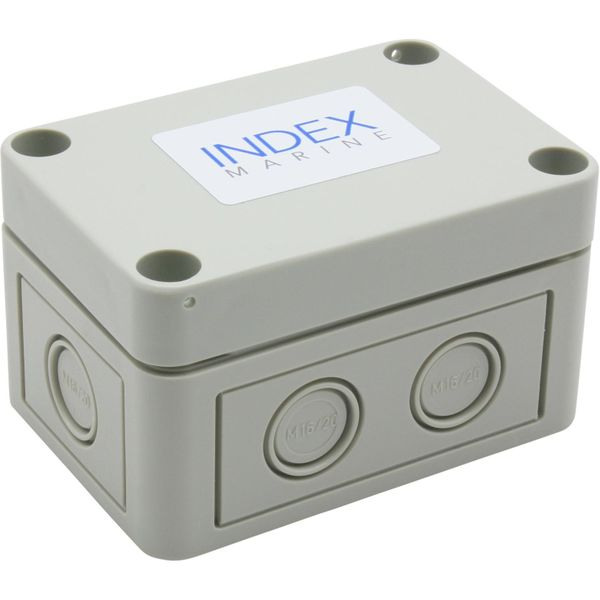 Index Marine Small Junction Box Kit with Splicer Kit (6 Way / IP67)