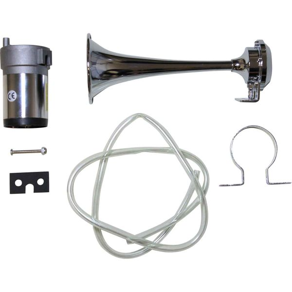 Electric Air Horn with Single Trumpet (123dB / 24V)