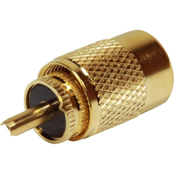 Shakespeare PL-259-G Solder Plug Connector