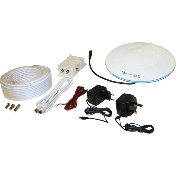 Shakespeare HD Marine Television Antenna (1.5m Cable / UHF/FM/VHF)