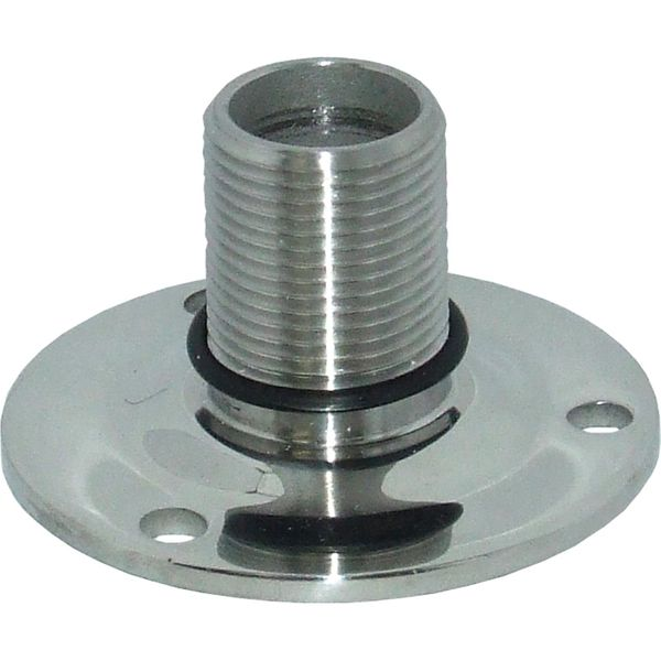 Fixed Antenna Base (Stainless Steel)