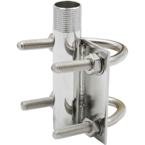 Heavy Duty Vertical Antenna Base (Stainless Steel)