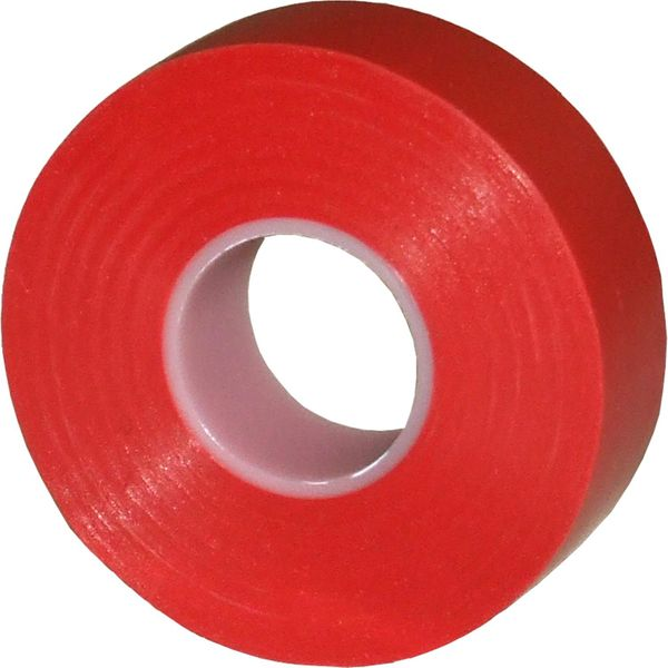 ASAP Electrical Red Self Adhesive PVC Insulation Tape (19mm x 20m)