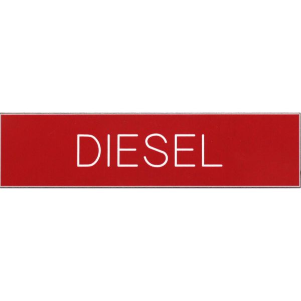 Diesel Label (100mm x 25mm / Self Adhesive)