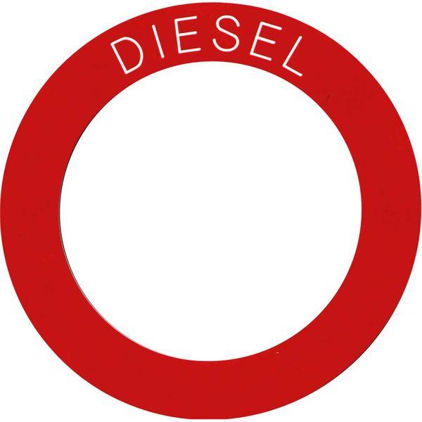 Diesel Label (130mm OD / 93mm ID)