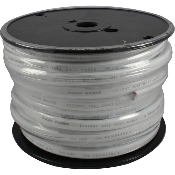 UL Certified Twin Core Tinned Flat Cable (14AWG / 30 Metres)