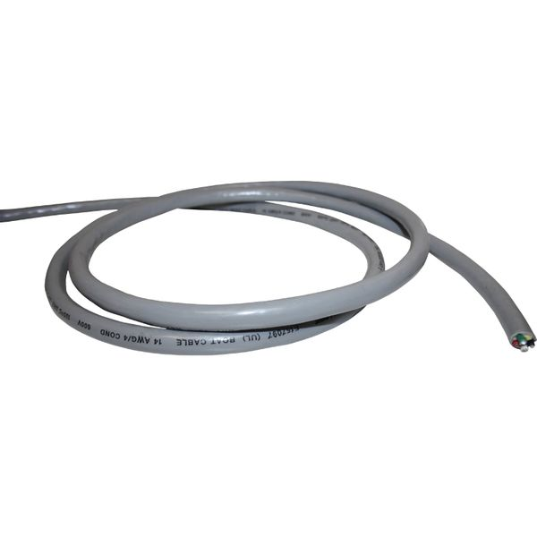 UL Certified Four Core Tinned Round Cable (14AWG / 10 Metre Coil)