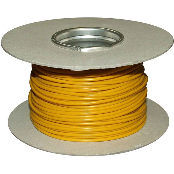 ASAP Electrical 1 Core 2mm² Yellow Thin Wall Cable (100m)