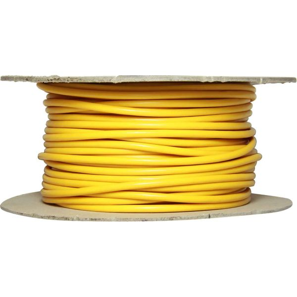 ASAP Electrical 1 Core 3mm² Yellow Thin Wall Cable (100m)
