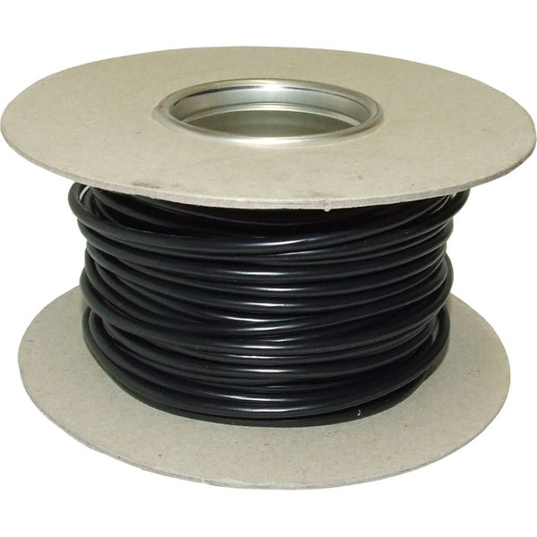 Auto Marine 1 Core 4mm² Black Thin Wall Cable (30m)
