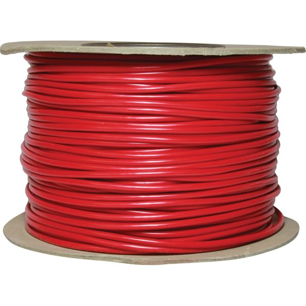 Auto Marine 1 Core 4mm² Red Thin Wall Cable (100m)