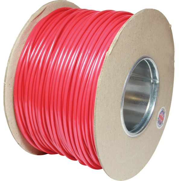 ASAP Electrical 1 Core 4.5mm² Red Thin Wall Cable (100m)