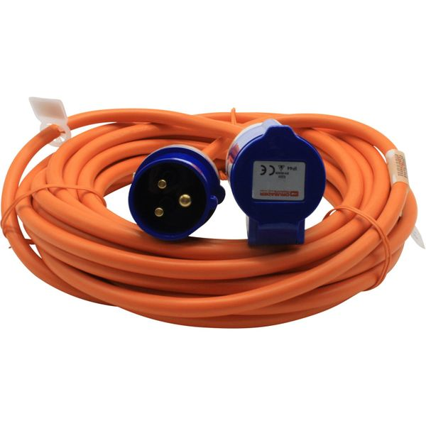 Shore Power Cable with Moulded Plug (10 Metres / 16A / 2.5mm²)