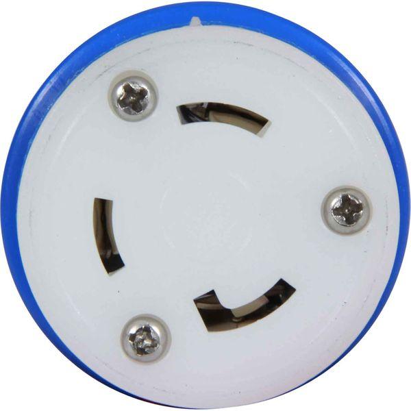 Osculati Blue Waterproof Shore Power Plug (110V - 240V, 30 Amp)