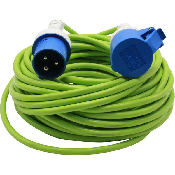 Shore Power Cable with Moulded Plug (25 Metres / 1.5mm²)