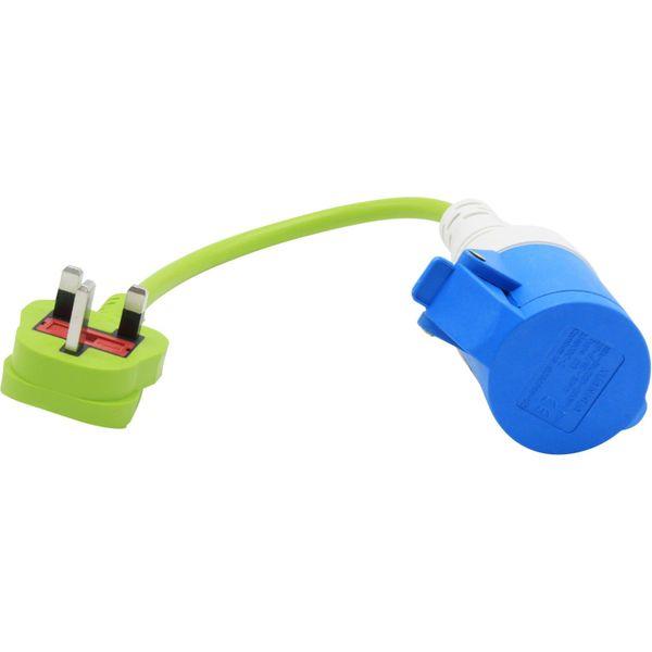 Shore Power Adaptor Plug (UK Shore Power to Mains / 240V)