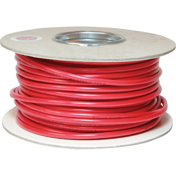 Oceanflex 1 Core 6mm² Tinned Red Thin Wall Cable (30m)
