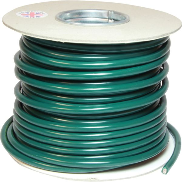 Oceanflex 1 Core 10mm² Tinned Green Thin Wall Cable (30m)