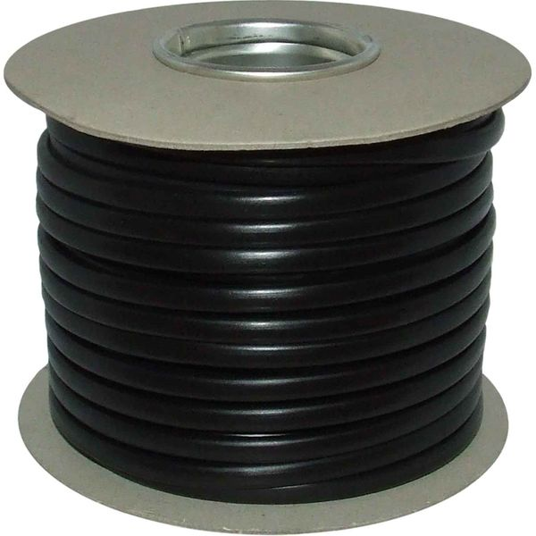 Oceanflex Flat 2 Core 2.5mm² Tinned Black Thin Wall Cable (100m)