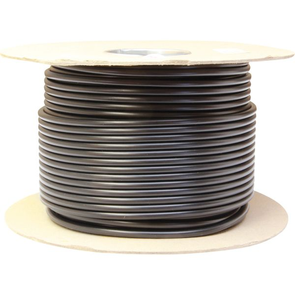 Oceanflex Round 2 Core 2.5mm² Tinned Black Thin Wall Cable (100m)