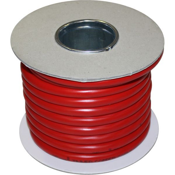 Oceanflex 25mm² Tinned Red Battery Cable (10 Metres)
