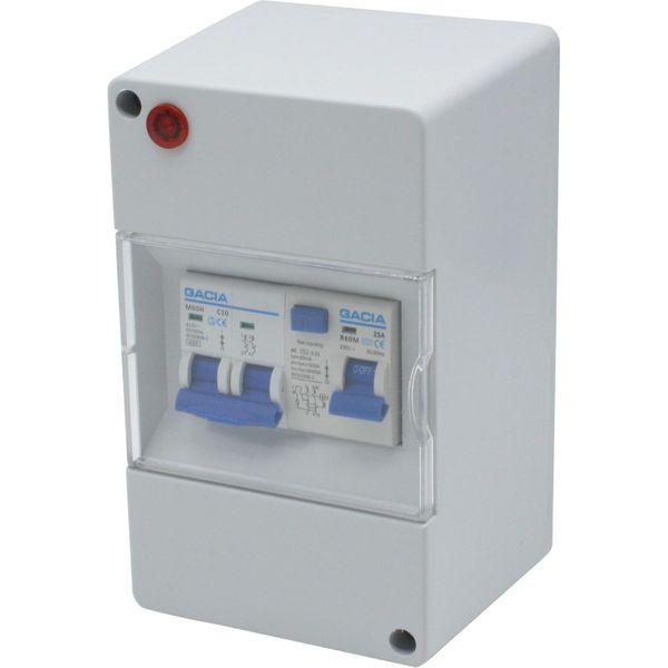 Mains Consumer Unit (25A 30mA RCD)