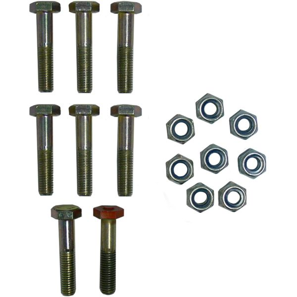 "R&D Marine Nut and Bolt Kit (4"" Coupling / 8)"