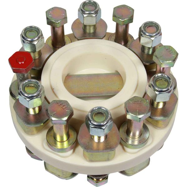 """R&D Flexible Coupling 910-032 for 6"""" Gearbox Couplings"""