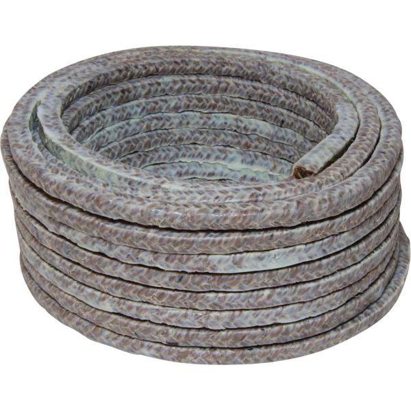 Drive Force PTFE Flax Sturntite Gland Packing (6mm / 8 Metre Coil)