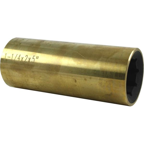 "Drive Force Brass Shaft Bearing (1-1/4"" Shaft / 2"" OD / 5"" Length)"