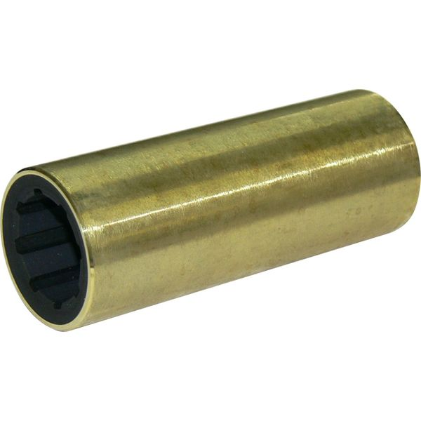 "Vetus Brass Shaft Bearing (25mm Shaft, 1-1/2"" OD, 100mm Long)"