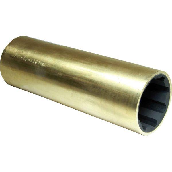 "Drive Force Brass Shaft Bearing (50mm Shaft, 2-5/8"" OD, 200mm Length)"