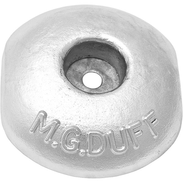 MG Duff ZD58 Disc Shaped Zinc Hull Anode for Salt Waters (2.2kg)