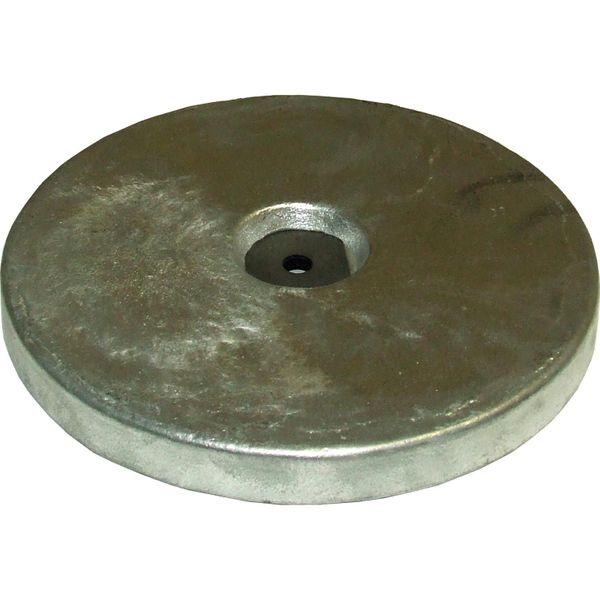 MG Duff ZD55 Disc Shaped Zinc Hull Anode for Salt Waters (7.0kg)