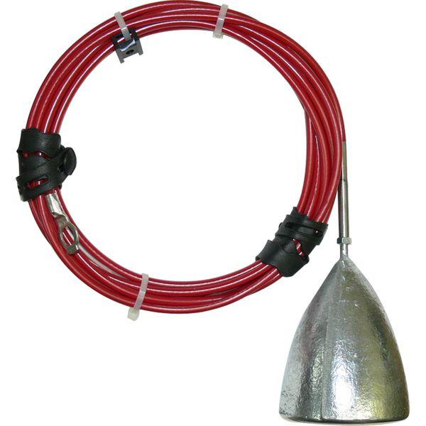MG Duff ZD57LKIT Hanging Zinc Hull / Mooring Anode Kit (2.2kg)
