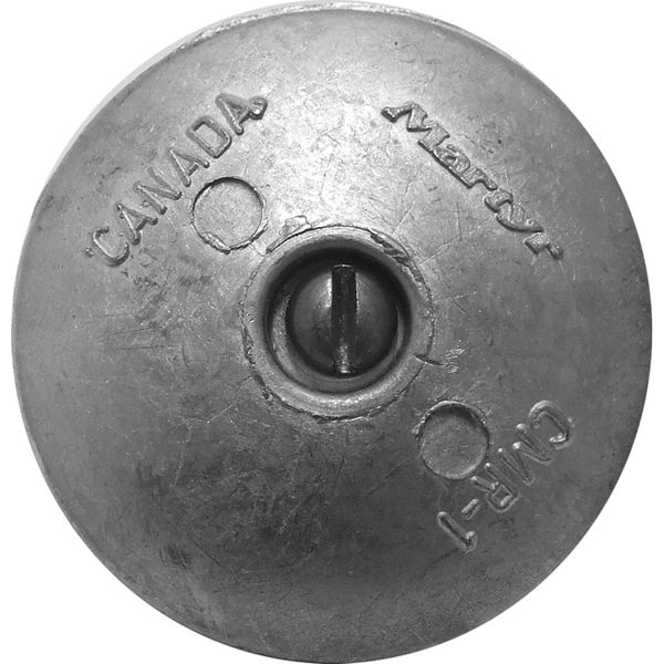 MG Duff ZD52 Disc Shaped Zinc Hull Anode for Salt Waters (Pair)