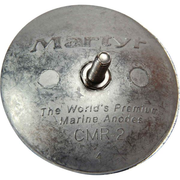MG Duff ZD59 Pair of Disc Shaped Zinc Hull Anodes (Bolt On)