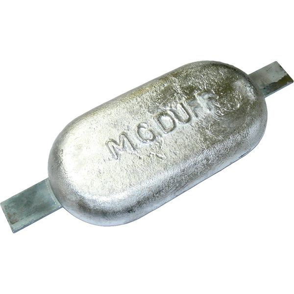 MG Duff MD80 Straight Magnesium Hull Anode for Fresh Waters (2.8kg)