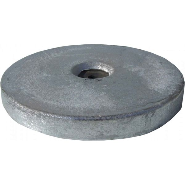 MG Duff MD55 Disc Shaped Magnesium Hull Anode for Fresh Waters (2.0kg)